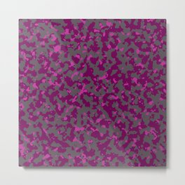 Military Camouflage Texture 7 Metal Print