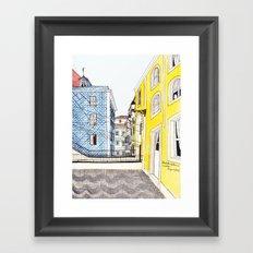 Beautiful Lisbon by Charlotte Vallance Framed Art Print