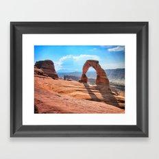 Arches, Moab, Utah Framed Art Print