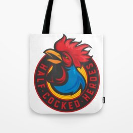 Half Cocked Heroes Logo Tote Bag