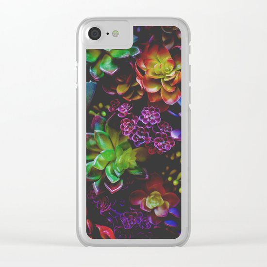 Treasure of Nature VI Clear iPhone Case