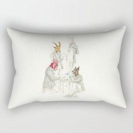 La identidad Rectangular Pillow