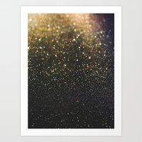 sparkle Art Prints featuring Sparkle by Jane Lacey Smith