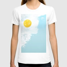 Fried by the beach T-shirt