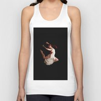 dancer Tank Tops featuring Dancer by Vetii