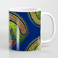 irish Mugs featuring Irish Twist by Alan Hogan