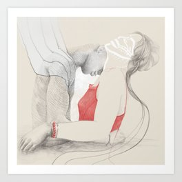 Passion Love Art Print