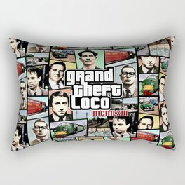 The Great Train Robbery 1963 Rectangular Pillow