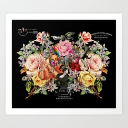 Nuit des Roses 2020 (is it over yet?) Art Print