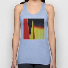 Points and Edges Abstract Unisex Tank Top
