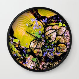 Perennial Power Wall Clock