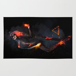 Fire Witch - Elements Collection Rug