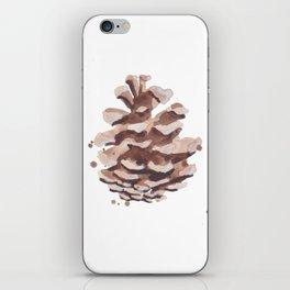Pine Cone Study iPhone Skin
