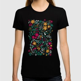 Block Print Botanical T-shirt