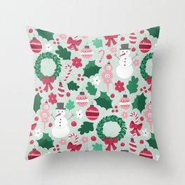 Christmas Overload Throw Pillow