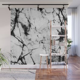 Marble Concrete Stone Texture Pattern Effect Dark Grain Wall Mural