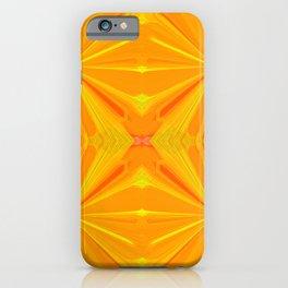 230 - Abstract orange design iPhone Case