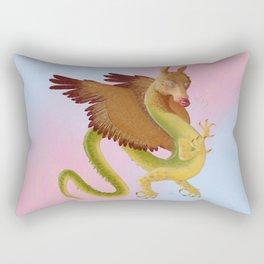 Amaru, Andean Dragon Rectangular Pillow