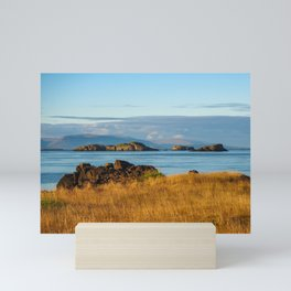 Stykkisholmur Evening Mini Art Print