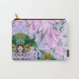 Lilac Dreams Fractal Abstract Carry-All Pouch