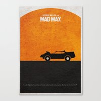mad max Canvas Prints featuring Mad Max by Ayse Deniz