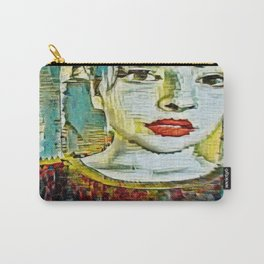Serendipity Beyond Smashed Mirrors Carry-All Pouch