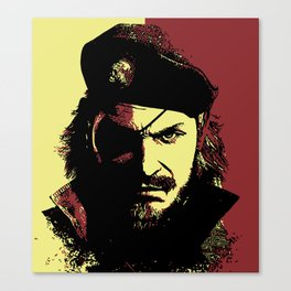 Big Boss (naked snake from metal gear solid) Canvas Print