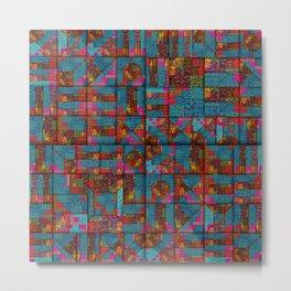 starburst pattern 1 Metal Print
