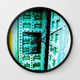 Door 3 Wall Clock