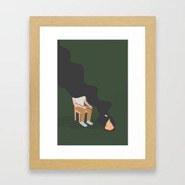 LEJRBÅL Framed Art Print