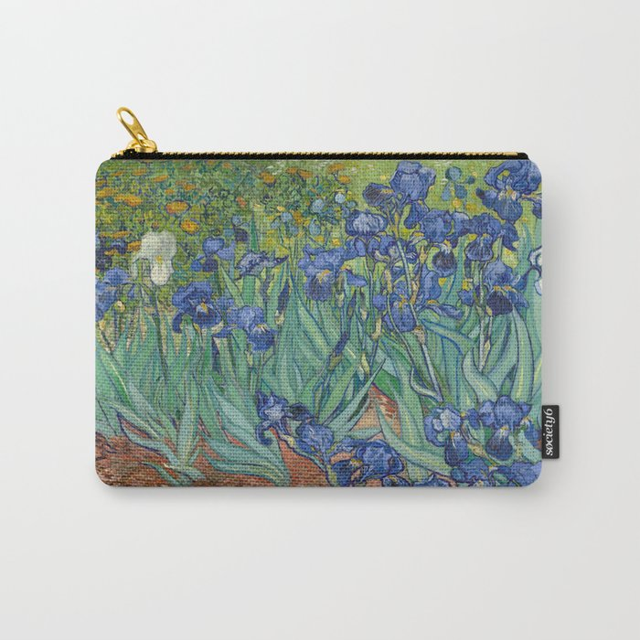 Vincent van Gogh - Irises Carry-All Pouch