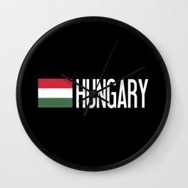 Hungary: Hungarian Flag & Hungary Wall Clock