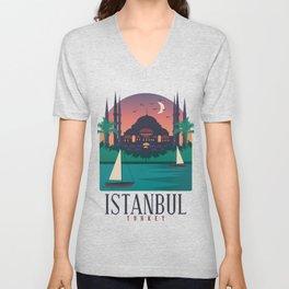 Istanbul - Turkey Unisex V-Neck