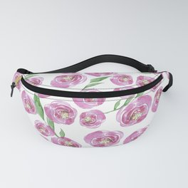 pink posies Fanny Pack