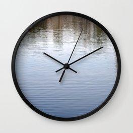 Water Abstract 3 Wall Clock