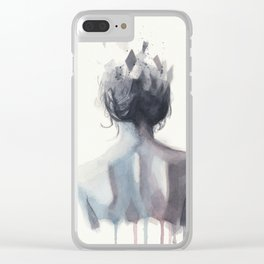 Watercolor sketch 08 Clear iPhone Case