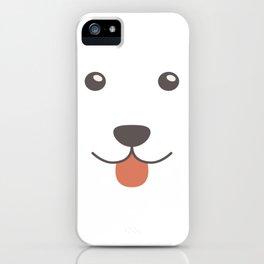 Dog Emoji Alaskan Malamute iPhone Case