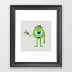 Mike / Freddy Framed Art Print