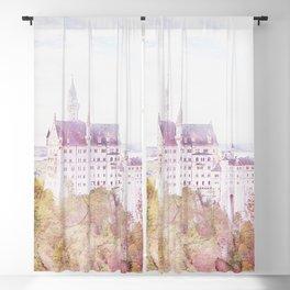 Neuschwanstein Castle Blackout Curtain