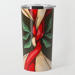 Ophelia Flower Travel Mug