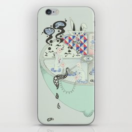 Deep and sour. iPhone Skin