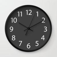 custom Wall Clocks featuring Custom by Zest Strategy Design