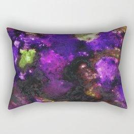 Geode III, Ametrine Rectangular Pillow
