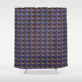 HOMEMADE LUCKY EYE PATTERN Shower Curtain