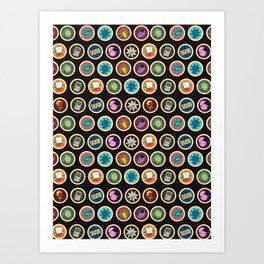 Toys, Games and Candy Art Print