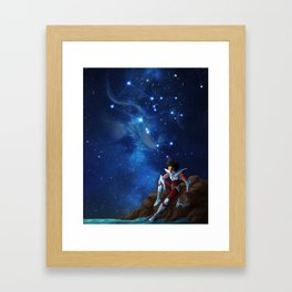 Pegasus - Saint Seiya Artwork Framed Art Print