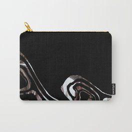 black marble xcv Carry-All Pouch