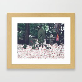 All The Cats Framed Art Print