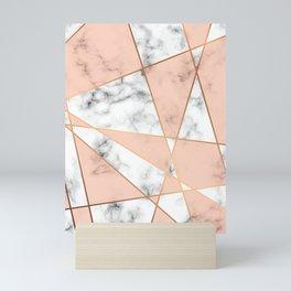 Marble Geometry 050 Mini Art Print
