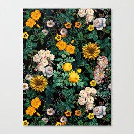 Midnight Garden XX Canvas Print